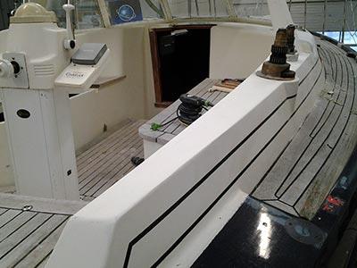 Jachthaven Stenhuis - Onderhoud - Zelf werken in overleg