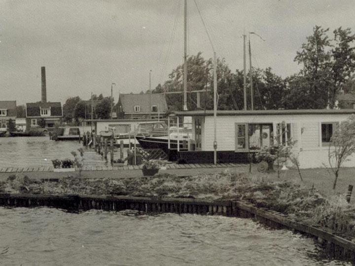 Jachthaven Stenhuis - Vroeger